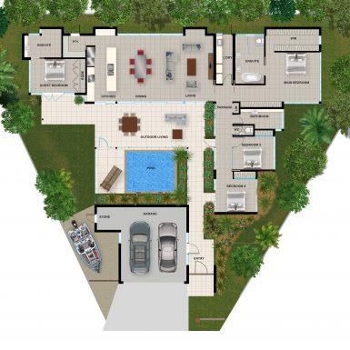 Lot 7 floor plan